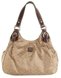 Giani Bernini Designer Logo Double Shoulder Bag