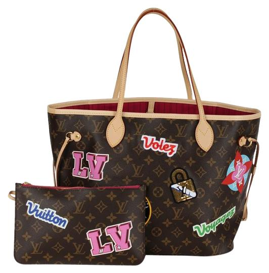 Preload https://img-static.tradesy.com/item/24340863/louis-vuitton-neverfull-the-patches-collection-2018-limited-edition-6790-brown-canvas-tote-0-1-540-540.jpg