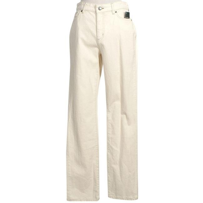 Item - Natural Beige Stretch Premier Slimming 10 Straight Leg Jeans Size 33 (10, M)