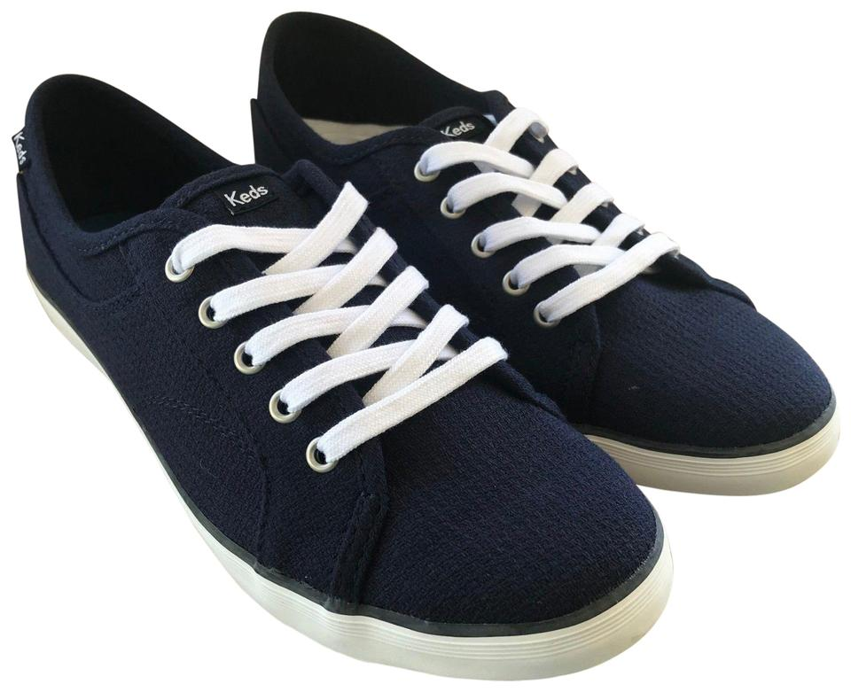 e5958ceb728c0 Keds Navy Coursa Lace Up Sneakers Free Shipping Flats. Size  US 6.5 Regular  (M ...
