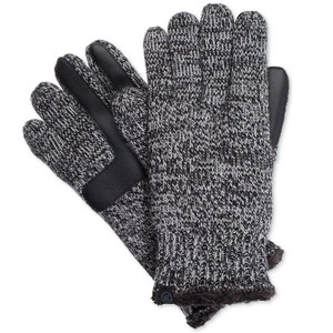 Isotoner Marled Knit smartDRI smarTouch Tech Gloves