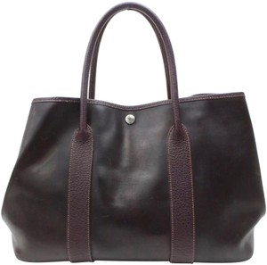 Hermès Tote in Brown/purple