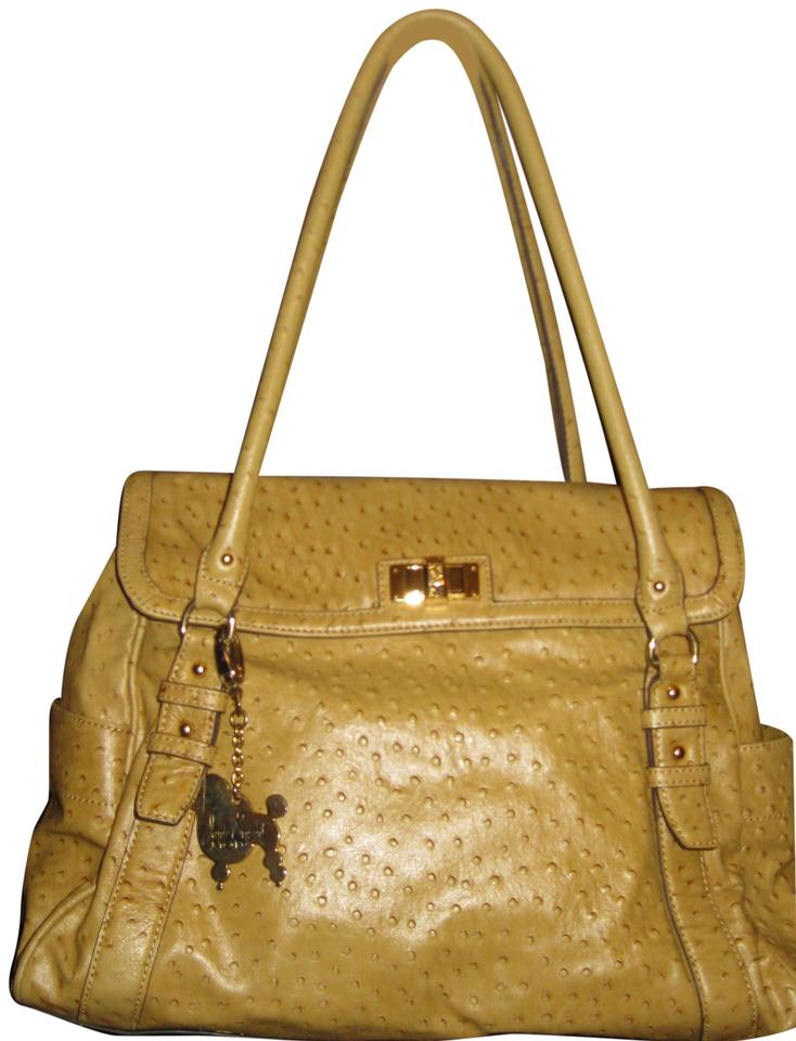 dba12d4eb4a Janie Bryant MOD Leather Designer Satchel in Tan Image 0 ...