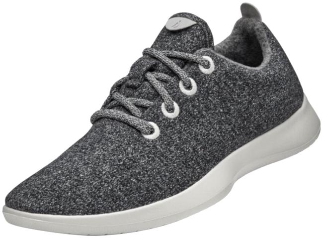 Item - Heather Gray Wool Runners Sneakers Size US 7 Regular (M, B)