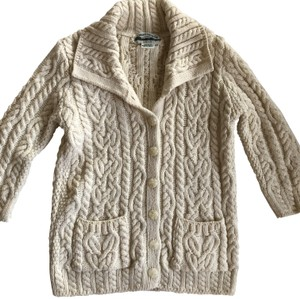 Aran Crafts Wool Cardigan