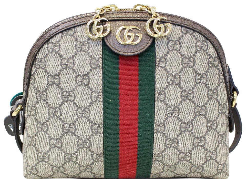 acaad0ad439 Gucci Ophidia Gg Supreme Monogram Crossbody Shoulder Bag - Tradesy