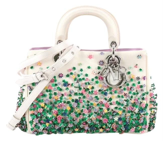Item - issimo Embellished Mini Pearl Satin Tote