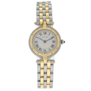 Cartier Ladies Cartier Panthere Vendome 1057920 Two Row Gold Steel