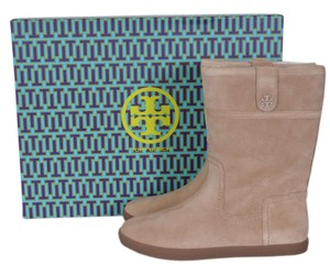 Tory Burch Snow Winter Warm Camel Boots