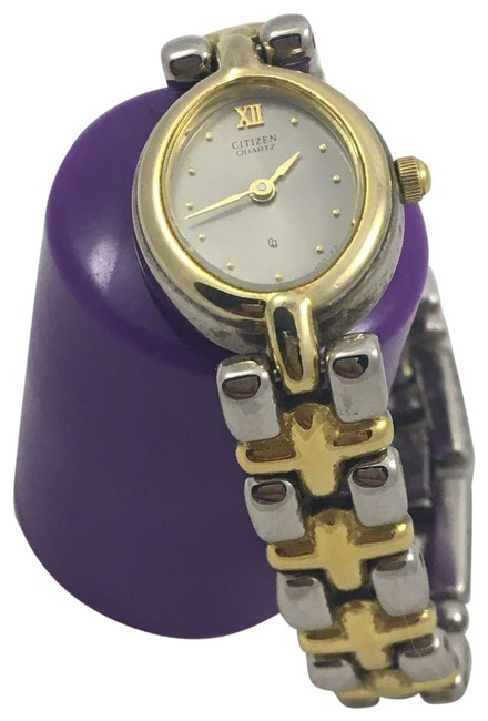 Citizen Two Tone 3220-s32887 Hsb Ladies Wrist Watch Citizen Two Tone 3220-s32887 Hsb Ladies Wrist Watch Image 1