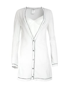 Chanel Cotton Trim Classic Cardigan