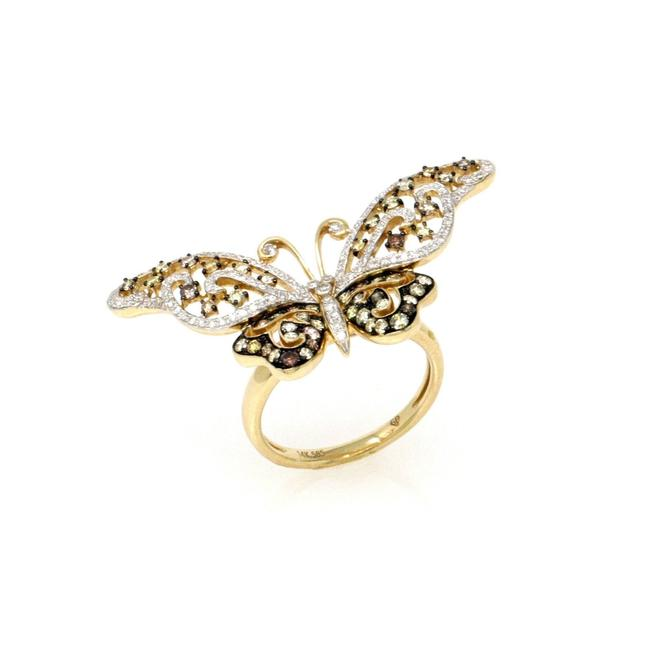 Item - Yellow Gold 14k Butterfly Effect Size 6.5 (1.19 Ct) Ring