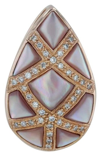 Preload https://img-static.tradesy.com/item/24342089/soft-pink-mother-of-pearl-and-12ctw-diamonds-pendant-0-1-540-540.jpg