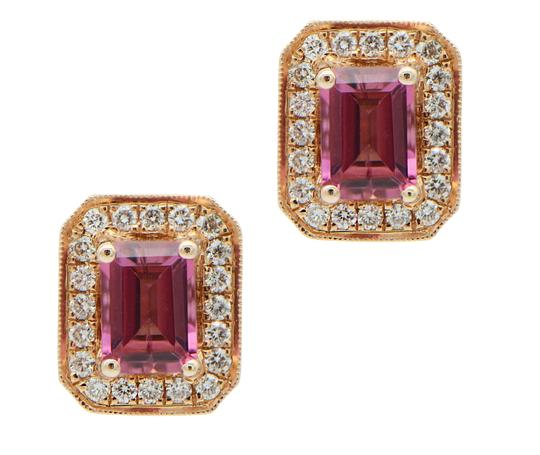 Preload https://img-static.tradesy.com/item/24342343/pink-tourmaline-with-halo-in-rose-gold-studs-earrings-0-0-540-540.jpg