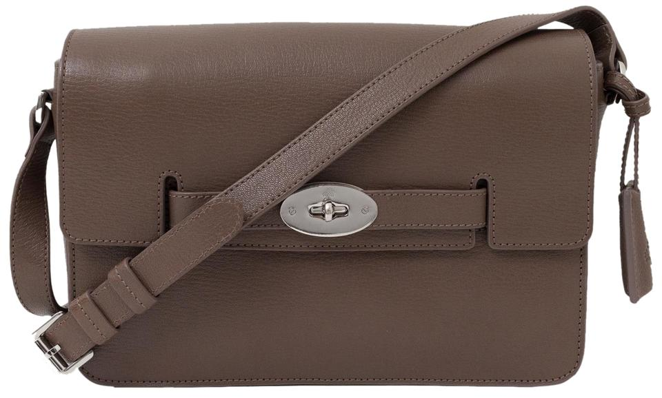 78051236fe Mulberry Bayswater Handbag Taupe Leather Cross Body Bag - Tradesy