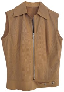 Versace Jeans Collection Leather Vest