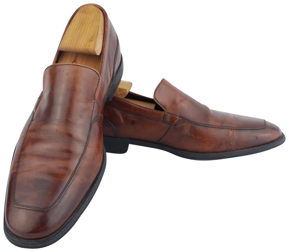 b13868a07a Cole Haan Brown Nikeair Men's Leather Loafers Flats Size US 8 ...