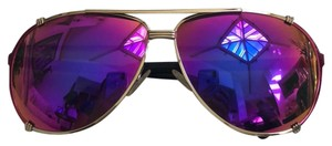 Dior Dior Aviator Pink Mirrored Sunglasses