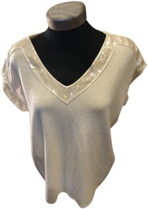 Magaschoni Sequin Sweater