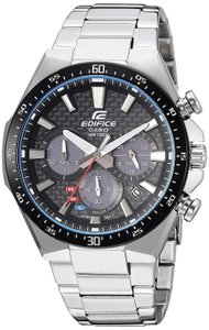 Casio New without tags Casio Men's 'Edifice' Quartz Stainless Steel Watch