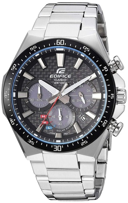 Casio Silver New Without Tags Men's 'edifice' Quartz Stainless Steel Watch Casio Silver New Without Tags Men's 'edifice' Quartz Stainless Steel Watch Image 1