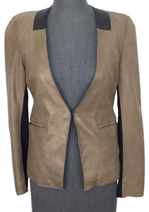 Bod & Christensen Light Brown Leather Jacket