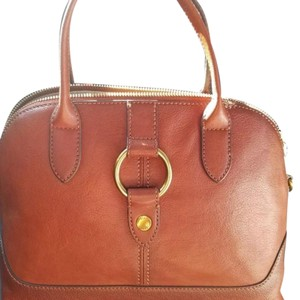 Frye Satchel in Cognac brown