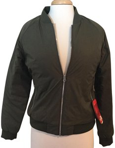 The North Face Quilted Bomber Jacket Coat