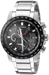 Citizen Citizen Men's 'World Time A-T Quartz Stainless Steel Casual Watch AT90