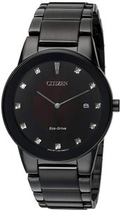 Citizen New without Tags Citizen Men's Eco-Drive Axiom Diamond Watch