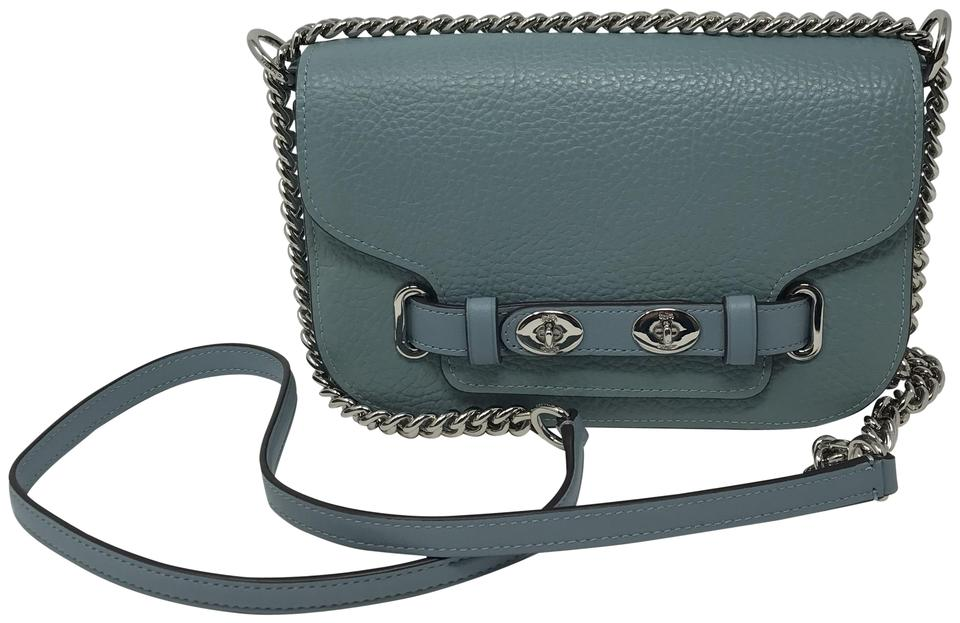 info for professional sale finest selection Coach Blake 20 Pebble Leather Cross Body Bag 21% off retail