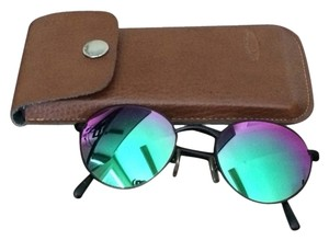 Signia Very Cool! Green And Pink Mirrored Sunglasses