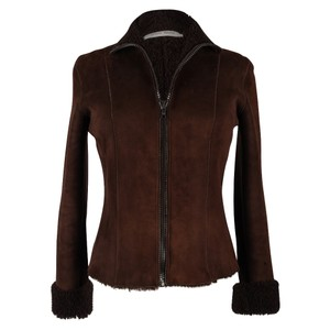 Miu Miu Vintage Shearling Brown Jacket