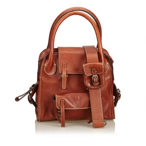 Chloé 8jclst005 Satchel in Brown