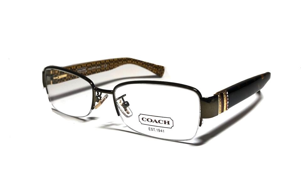 84742e3ce430 Coach Tortoise Sides HC 5027 Cicily Eyeglasses - W/ Case and Packaging  Image 0 ...
