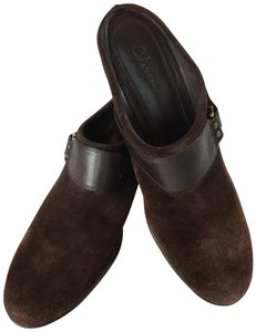 Cole Haan Suede Nike Brown Mules
