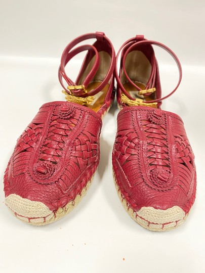 Preload https://img-static.tradesy.com/item/24344496/valentino-maroonred-grained-leather-huarache-sandals-size-eu-40-approx-us-10-regular-m-b-0-5-540-540.jpg