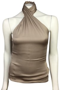 Ralph Lauren Collection Bronze Halter Top