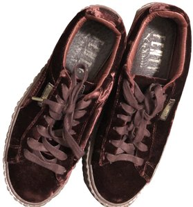 best sneakers 040c5 cd182 Cranberry Velvet Creeper Flats