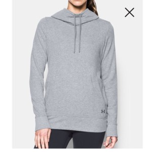 Under Armour French Terry Open Back Warm-Up Hoodie