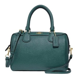 Coach Satchel in Dark Turquoise