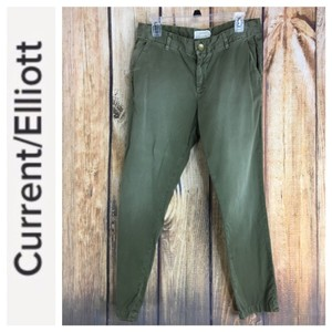 Current/Elliott Trouser Current/Elliott Khaki/Chino Pants green