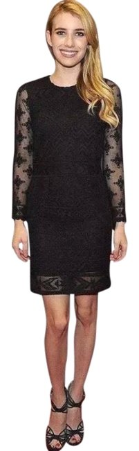 Item - Black Pour H&m Lace Mini Short Casual Dress Size 4 (S)