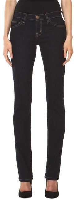 Item - Blue Dark Rinse The In Ace Straight Leg Jeans Size 27 (4, S)