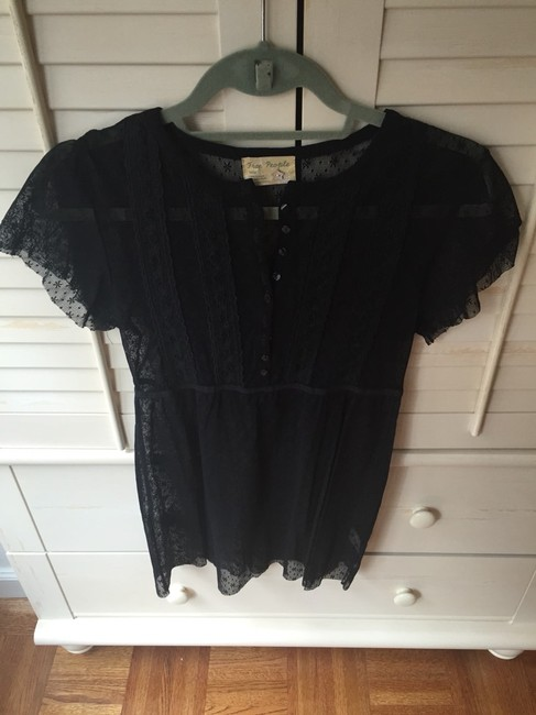 Free People Top Black Image 1