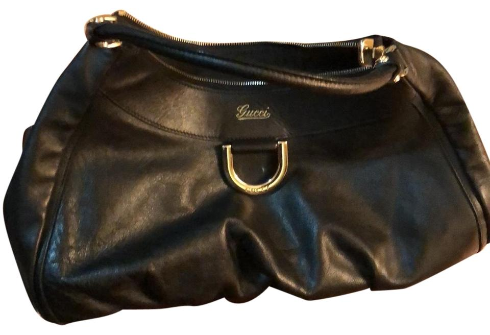 7a771ed86c405 Gucci Abbey D Ring Shoulder (Large) Leather Hobo Bag - Tradesy