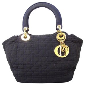 Dior Satchel in Navy Cannage Hand Bag
