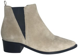 Marc Fisher Chelsea Coachella Pointed Toe Suede Boots
