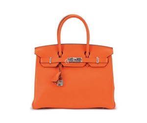 Hermès Tote in Orange poppy