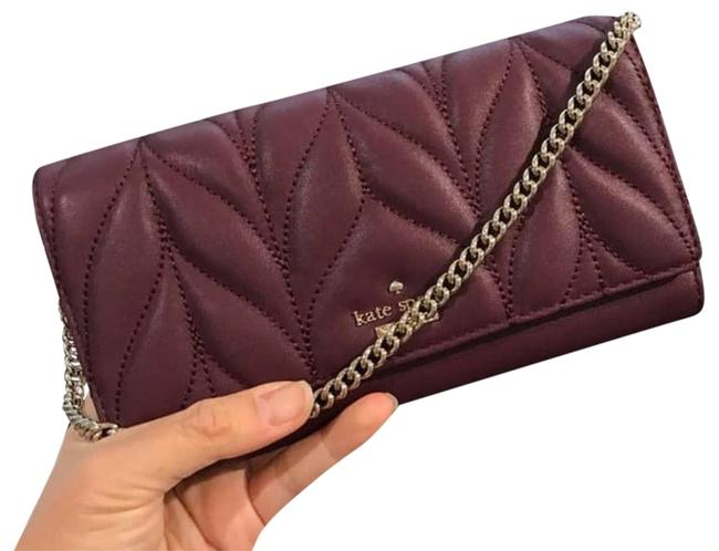 Item - Milou Briar Lane Quilted Wallet Red Leather Clutch